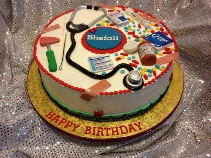 Nurse Themed Birthday Cake Birthday Cakes Gallery