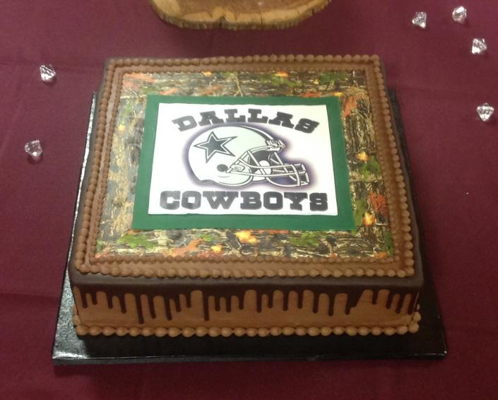 [Image: Dallas Cowboys Groom's Cake]