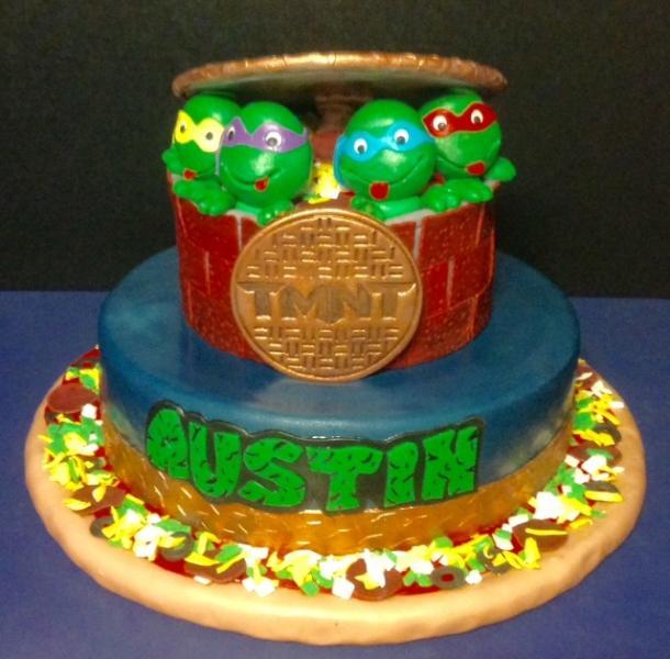 Swell Tmnt Birthday Cake Birthday Cakes Gallery Personalised Birthday Cards Paralily Jamesorg