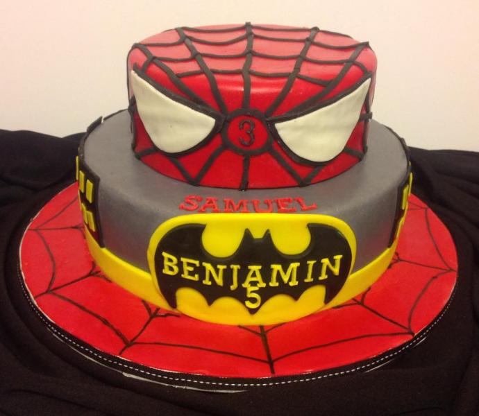 Fabulous Spiderman Cake Birthday Cakes Gallery Funny Birthday Cards Online Alyptdamsfinfo