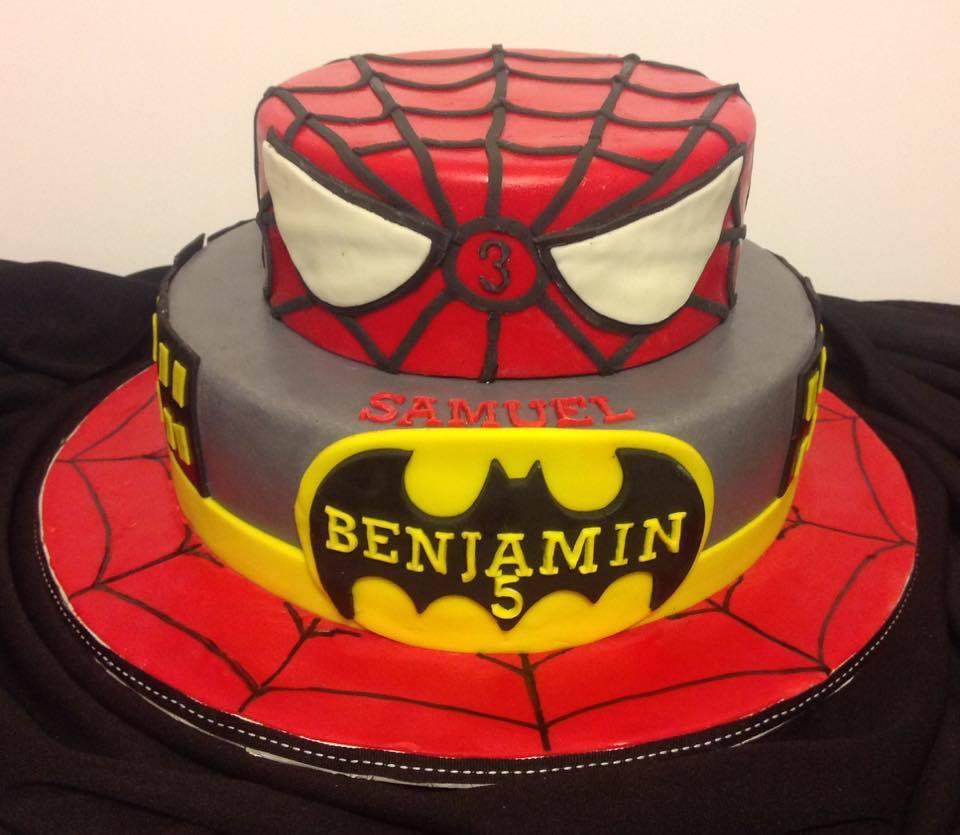 Awesome Spiderman Cake Birthday Cakes Gallery Personalised Birthday Cards Arneslily Jamesorg