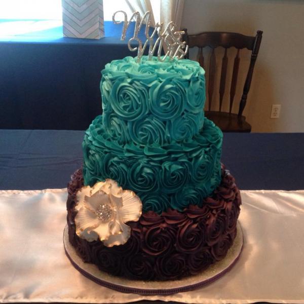 Baby Shower Slab Cake